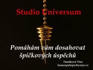 Studio Universum - pomaham vam dosahovat spickovych uspechu