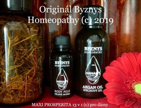 Homeopatický set prosperita fote 13 v 1 dámy